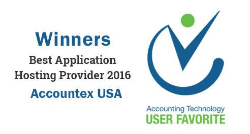 Accountex Technology User Favorite Award 2016